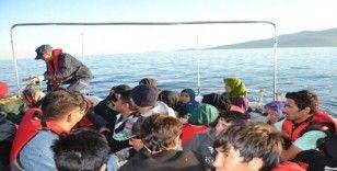 İzmir'de 248 düzensiz göçmen yakalandı