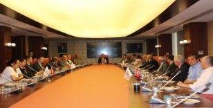 Çerkezköy'de Güvenlik Kurulu Toplantısı yapıldı