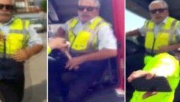 Çekici şoförü vatandaşa sopayla saldırdı