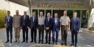 Meteoroloji Genel Müdürü Coşkun'dan 3. Ordu Komutanı Korgeneral Öngay'a ziyaret