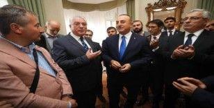 Dışişleri Bakanı Çavuşoğlu, Strasbourg'ta DATÜB ile görüştü