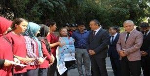 """Kilis'te """"Yaya Geçidi Nöbeti"""" etkinliği düzenlendi"""