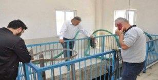 Başkan Elbi, çalışmaları yerinde inceledi