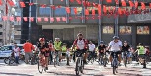 'Dünya Kalp Günü'nde pedala bastılar