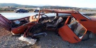 Kütahya'da trafik kazası: 1'i ağır 3 yaralı