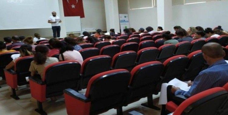 Tunceli'de 70 personele oryantasyon eğitimi