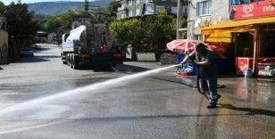 Karabük'te temizlik çalışması