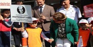 Uşak'ta 'Yaya Güvenliğinin Nöbetçisiyiz' etkinliği