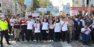 Sayın Güzeloğlu, 'Yaya Güvenliğinin Nöbetçisiyiz' kampanyasına katıldı