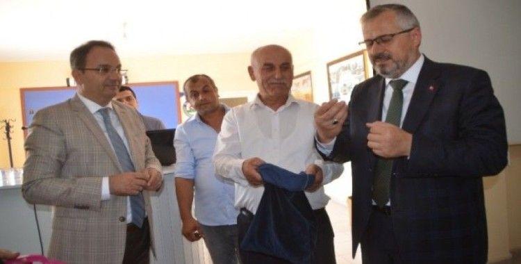 Bafra'da tütün indirme kuraları çekildi