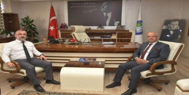 Başkan Kayda, MHP İl Başkanı Baysal'ı ağırladı