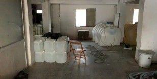 İstanbul'da 5 bin litre etil alkol ele geçirildi