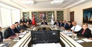 Üniversite güvenlik koordinasyon kurulu toplantısı gerçekleştirildi