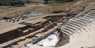 Parion'un bin 850 yıllık sahnesinde 'bulmaca' çözüldü