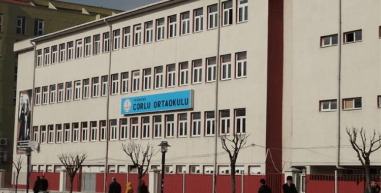 Tekirdağ'da okulun bir bloku tahliye edildi