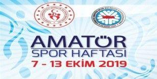 Amatör Spor haftası etkinlikleri