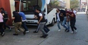 Kocaeli'deki torbacı operasyonunda 9 tutuklama