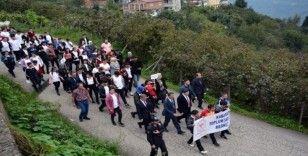 Kabadüz'de 'Dünya Yürüyüş Günü' etkinliği
