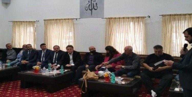 Alman Bakan Lucha, DİTİB Eyüp Sultan Camii'ni ziyaret etti