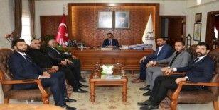 Ülkü Ocakları, Nevşehir Valisi Aktaş'ı ziyaret etti