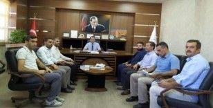 Din görevlileri Müdür Tunçmen ile bir araya geldi
