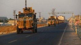 Suriye'nin kuzeyinde üçüncü kara devriyesi gerçekleştiriliyor