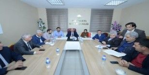 AK Parti ilçe başkanları için karşılama
