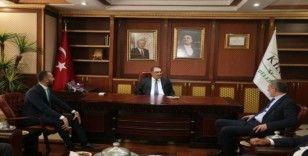 Bursa TSO Başkanı İbrahim Burkay, Kilis'te