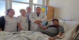 ERÜ Tıp Fakültesi Hastanesinde Bahreynli hastaya 'Yapay Mesane' yapıldı
