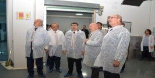 Ankara Valisi Şahin ve ASO Başkanı Özdebir'den ilaç fabrikasına ziyaret