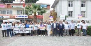 """""""Erken Teşhis Hayat Kurtarır"""" sloganıyla yürüdüler"""