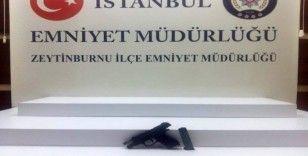 Zeytinburnu'nda silahlı kavga kamerada