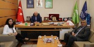 Doruk Sağlık Grubu'ndan Bursa Şehir Konseyi'ne ziyaret