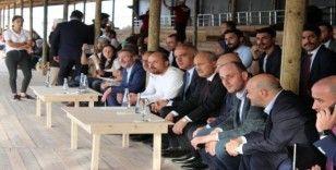 Bakan Turhan ve Ersoy, Etnospor Kültür Festivali'ni ziyaret etti