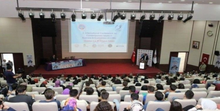 Tokat'ta Uluslararası İşletme ve Ekonomi Konferansı