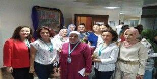 Kadın Doğum Hastanesi'nde Emzirme Haftası etkinliği