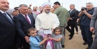 Bandırma Üniversitesi Camii'nin temelleri atıldı