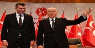 """Aydın MHP; """"Devlet; devletin başındadır"""""""