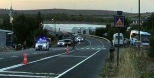 Şanlıurfa'da askeri otobüs ile tır çarpıştı: 16 yaralı