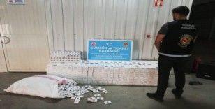 Gümrük muhafaza ekiplerince son 2 haftada 71 bin 500 paket kaçak sigara ele geçirildi