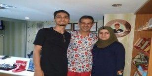 Avrupa'da başvurmadık yer bırakmayan Alp ailesi, Diyarbakır'da çocuk sahibi oldu
