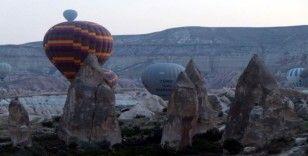 Kapadokya Bölgesini 9 ayda 2 milyon 902 bin 390 turist ziyaret etti
