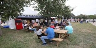 Antep sofrası, adana lezzet festivali'ne damga vurdu