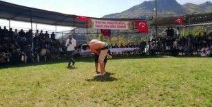 İspir'de karakucak güreş festivali