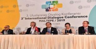 3. Uluslararası Diyalog Konferansı Maltepe'de yapıldı