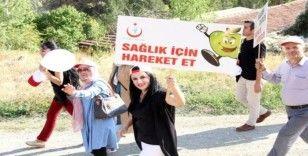 """Erzincan'da """"Dünya Yürüyüş Günü"""" etkinliği"""