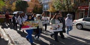 Emet'te 'Sağlıklı yaşam' yürüyüşü