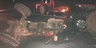 Kırıkkale'de 4 araçlı zincirleme trafik kazası: 1 ölü, 1 yaralı