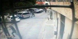 Şişli'de sokak ortasında silahlı çatışma kamerada