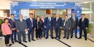Eximbank, Mersinli KOBİ'lere ihracatta doping sağlayacak